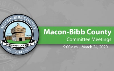 March 24, 2020 Macon-Bibb Committee Meeting